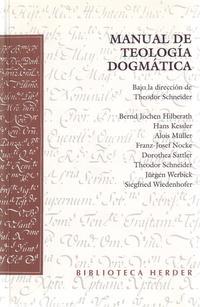 Libro MANUAL DE TEOLOGIA DOGMATICA
