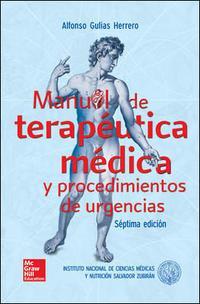 Libro MANUAL DE TERAPEUTICA MEDICA Y PROCEDIMIENTOS DE URGENCIAS
