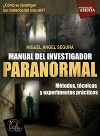 Libro MANUAL DEL INVESTIGADOR PARANORMAL