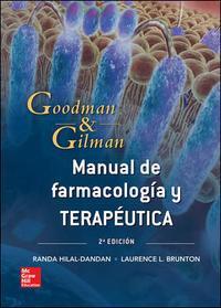 Libro MANUAL GOODMAN Y GILMAN. BASES FARMACOLÓGICAS