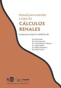 Libro MANUAL PARA ENTENDER Y TRATAR LOS CALCULOS RENALES