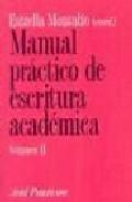 Libro MANUAL PRACTICO DE ESCRITURA ACADEMICA II