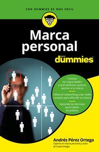 Libro MARCA PERSONAL PARA DUMMIES
