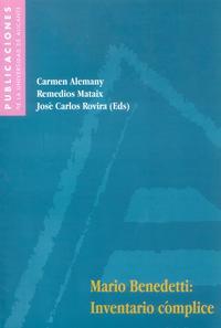Libro MARIO BENEDETTI: INVENTARIO COMPLICE
