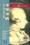 Libro MARQUES DE SADE. OBRAS SELECTAS