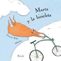 Libro MARTA Y LA BICICLETA