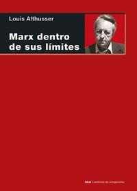 Libro MARX DENTRO DE SUS LIMITES