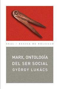 Libro MARX: ONTOLOGIA DEL SER SOCIAL