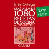 Libro MAS ALLA DE 1080 RECETAS DE COCINA. CARNES