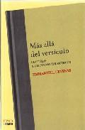 Libro MAS ALLA DEL VERSICULO