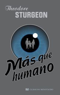 Libro MAS QUE HUMANO