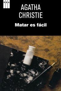Libro MATAR ES FACIL