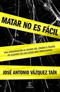 Libro MATAR NO ES FACIL