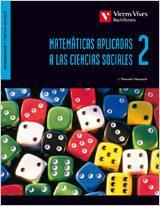 Libro MATEMATICAS APLICADAS A LAS CIENCIAS SOCIALES 2º BACHILLERATO