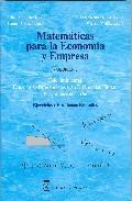 Libro MATEMATICAS PARA LA ECONOMIA Y LA EMPRESA: CALCULO INTEGRAL, ECUA CIONES DIFERENCIALES Y EN DIFERENCIAS FINITAS. PROGRAMACION LINEAL. EJERCICIOS Y PROBLEMAS RESUELTOS