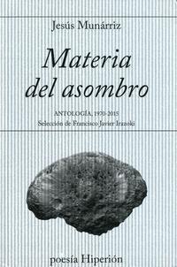 Libro MATERIA DEL ASOMBRO