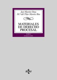 Libro MATERIALES DE DERECHO PROCESAL: INTRODUCCION
