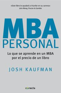 Libro MBA PERSONAL