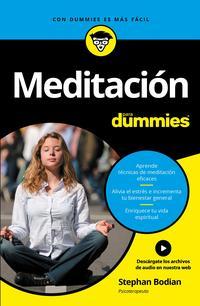 Libro MEDITACION PARA DUMMIES