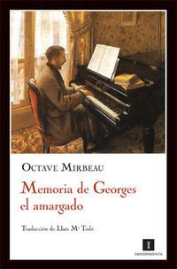 Libro MEMORIA DE GEORGES EL AMARGADO