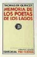 Libro MEMORIA DE LOS POETAS DE LOS LAGOS