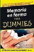 Libro MEMORIA EN FORMA PARA DUMMIES