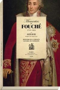 Libro MEMORIAS DE FOUCHE 1759-1820