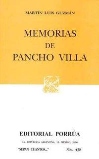 Libro MEMORIAS DE PANCHO VILLA