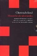 Libro MEMORIAS DE ULTRATUMBA