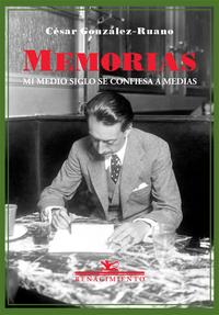 Libro MEMORIAS: MI MEDIO SIGLO SE CONFIESA A MEDIAS