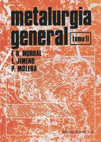 Libro METALURGIA GENERAL