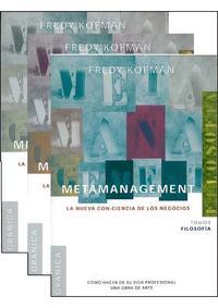 Libro METAMANAGEMENT: COMO HACER DE SU VIDA PROFESIONAL UNA OBRA DE ARTE