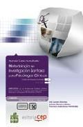 Libro METODOLOGIA DE INVESTIGACION SANITARIA PARA PSICOLOGOS CLINICOS. COLECCION FORMACION CONTINUADA