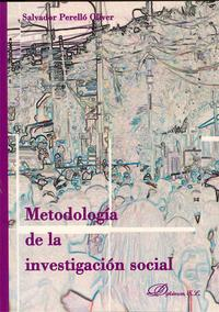 Libro METODOLOGIA DE LA INVESTIGACION SOCIAL