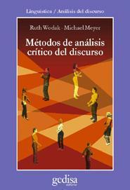 Libro METODOS DE ANALISIS CRITICO DEL DISCURSO