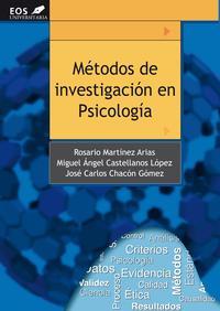 Libro METODOS DE INVESTIGACION EN PSICOLOGIA