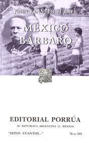 Libro MEXICO BARBARO