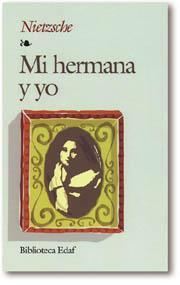 Libro MI HERMANA Y YO