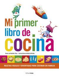Libro MI PRIMER LIBRO DE COCINA