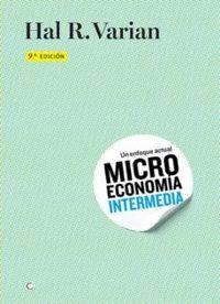 Libro MICROECONOMIA INTERMEDIA