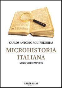 Libro MICROHISTORIA ITALIANA