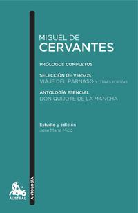 Libro MIGUEL DE CERVANTES. ANTOLOGIA