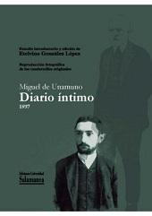 Libro MIGUEL DE UNAMUNO DIARIO INTIMO 1