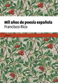 Libro MIL AÑOS DE POESIA ESPAÑOLA