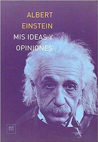 Libro MIS IDEAS Y OPINIONES
