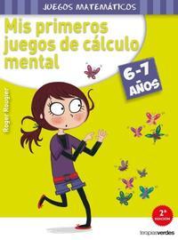 Libro MIS PRIMEROS JUEGOS DE CALCULO MENTAL