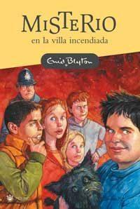 Libro MISTERIO DE LA VILLA INCENDIADA