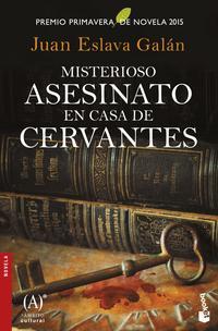 Libro MISTERIOSO ASESINATO EN CASA DE CERVANTES