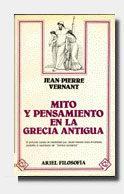 Libro MITO Y PENSAMIENTO EN LA GRECIA ANTIGUA