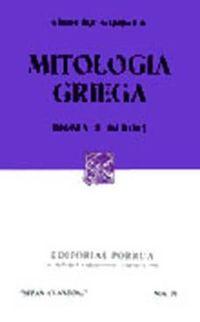 Libro MITOLOGIA GRIEGA: DIOSES Y HEROES